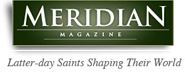 Logo Recognizing Mountain West Foot & Ankle Institute's affiliation with Meridian Magazine