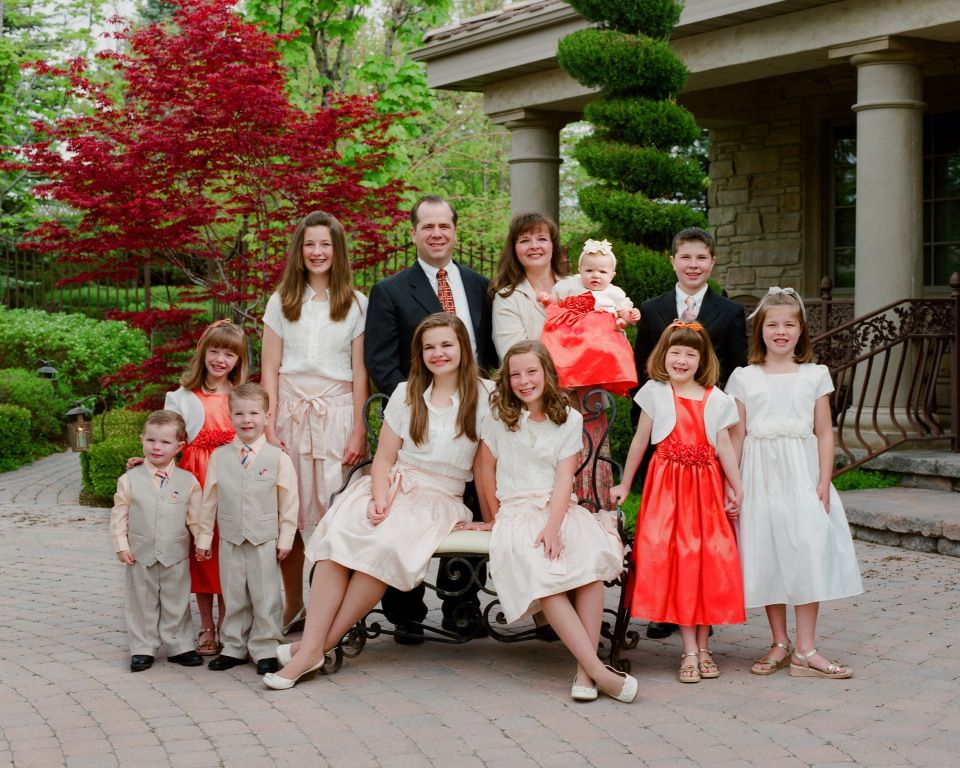 Family Picture | Gibson Family | Podiatry Dad