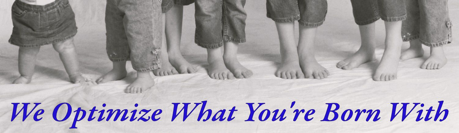 Children's Feet - We Optimize What You Are Born With